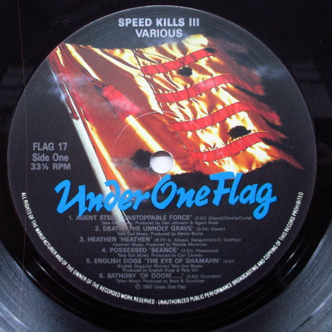 V.A. - Speed Kills III (UK Orig.LP)