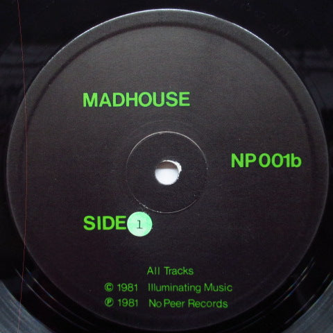 V.A. - Ten From The Madhouse (UK Orig.LP)