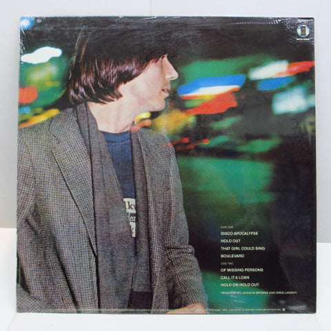 JACKSON BROWNE (ジャクソン・ブラウン)  - Hold Out (US Orig.LP)