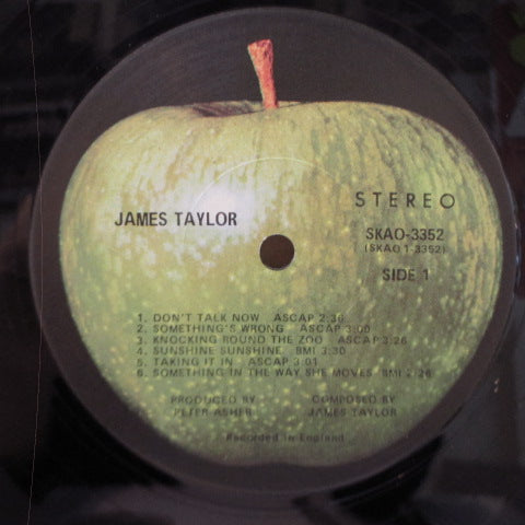 JAMES TAYLOR - James Taylor (1st) (US '70 2nd Press LP/GS)