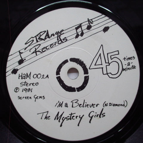 "MYSTERY GIRLS, THE - I'm A Believer +2 (UK Orig.7"")"