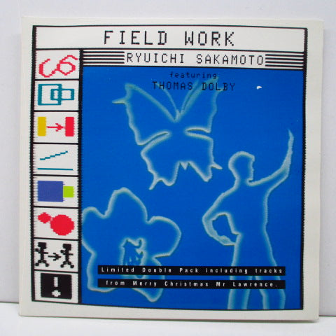 "RYUICHI SAKAMOTO (坂本龍一) - Feild Work (London Mix)+3 (UK Orig.2x7"")"