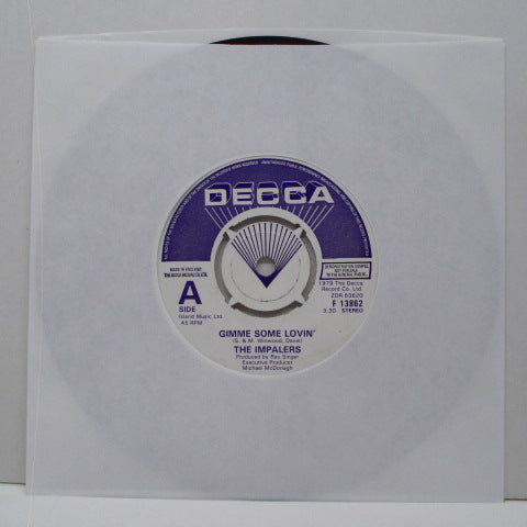 "IMPALERS, THE - Gimme Some Lovin' (UK Promo 7"")"