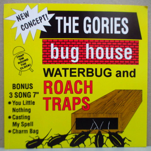 "GORIES, THE - Bug House Waterbug And Roach Traps (US Orig.7"")"