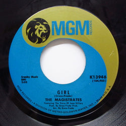 MAGISTRATES - Girl / Here Comes The Judge (Orig)
