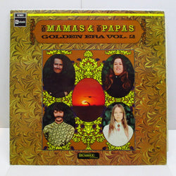 MAMAS & PAPAS - Golden Era Vol.2 (UK 60's Press Black Label Stereo LP/CFS)
