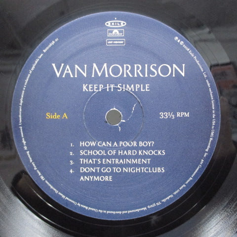 VAN MORRISON - Keep It Simple (US:2008 LTD Press 2xLP)
