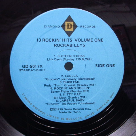 V.A. - Starday-Dixie Rockabillys Vol.1 (US Orig.Blue Lbl.LP/Diamond)