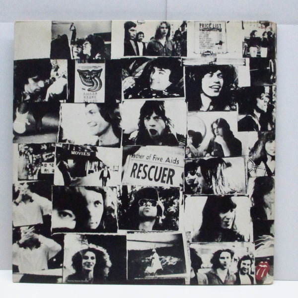 ROLLING STONES (ローリング・ストーンズ)  - メイン・ストリートのならず者 - Exile On Main St. (Japan Orig.2xLP/GS)