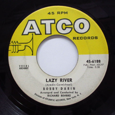 BOBBY DARIN - Lazy River / Oo-Ee-Train