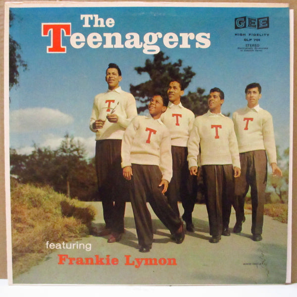FRANKIE LYMON & THE TEENAGERS (フランキー・ライモン & ザ・ティーンネイジャーズ)  - Featuring Frankie Lymon (US '77 Re Stereo LP/Gee)