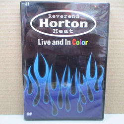 REVEREND HORTON HEAT - Live And In Color (US Orig.DVD)