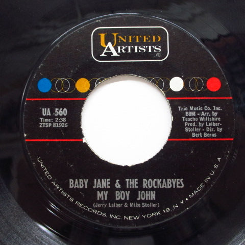 BABY JANE & THE ROCKABYES - How Much Is That Doggie in The Window (Orig)