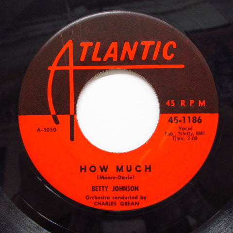 BETTY JOHNSON - Dream / How Much