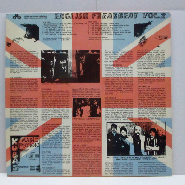 V.A. - English Freakbeat Vol.2 (US Unofficial LP)