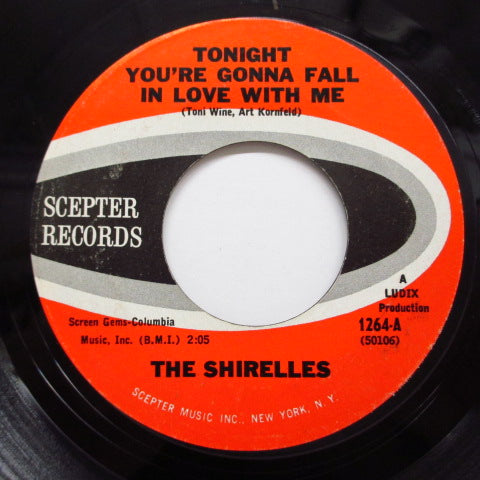 SHIRELLES - Tonight You're Gonna Fall In Love With Me (60's Reissue)