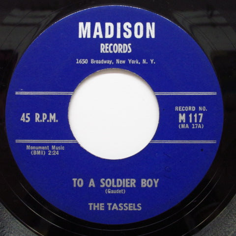 TASSELS-The Boy For Me ('59 Madison Orig)
