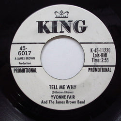 YVONNE FAIR & JAMES BROWN BAND - Tell Me Why ('66 Promo)