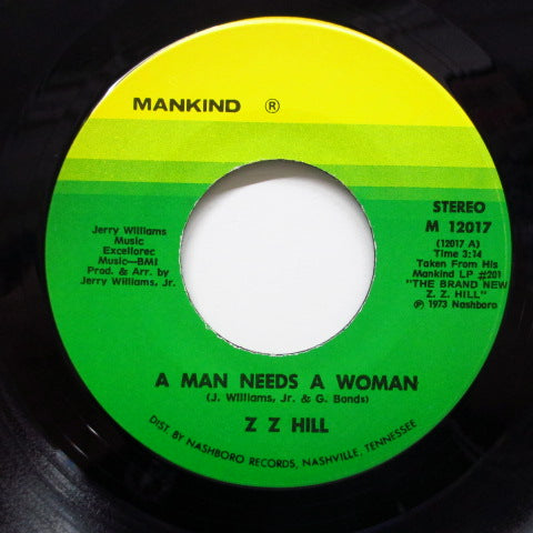 Z.Z. HILL - Chokin' Kind ('72 Reissue)
