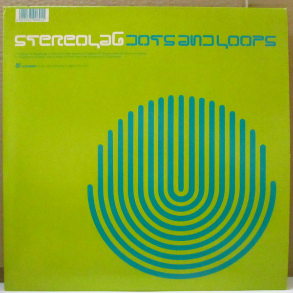 STEREOLAB (ステレオラブ)  - Dots And Loops (UK Orig.Black Vinyl 2xLP+Inner)