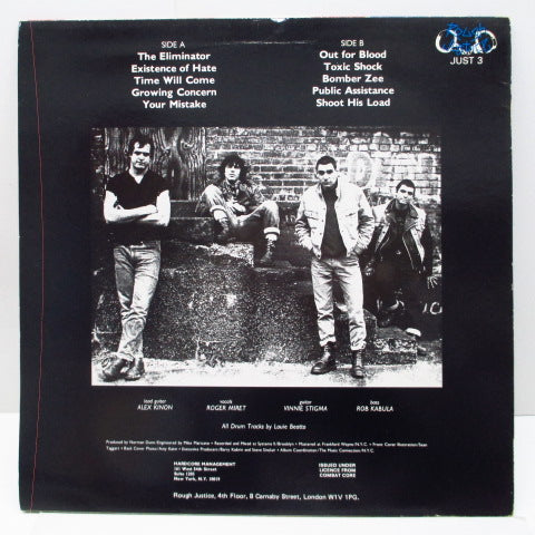 AGNOSTIC FRONT - Cause For Alerm (UK Orig.LP)