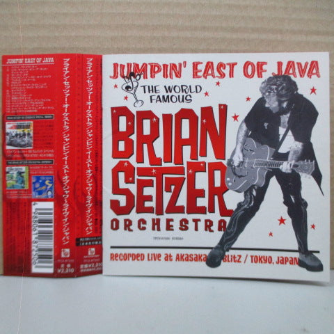 BRIAN SETZER ORCHESTRA - Jumpin' East Of Java (Japan Orig.CD)