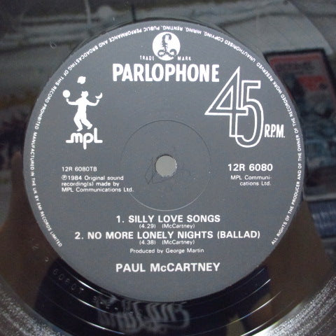 "PAUL McCARTNEY - No More Lonely Nights (Extended Version) (UK Orig.12"")"