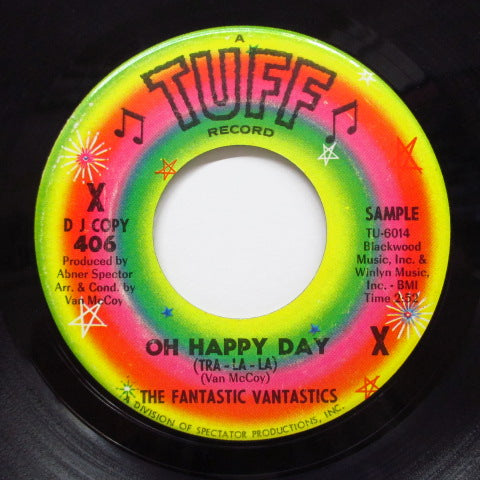 Fantastic Vantastics - Gee What A Boy / Oh Happy Day (DJ)