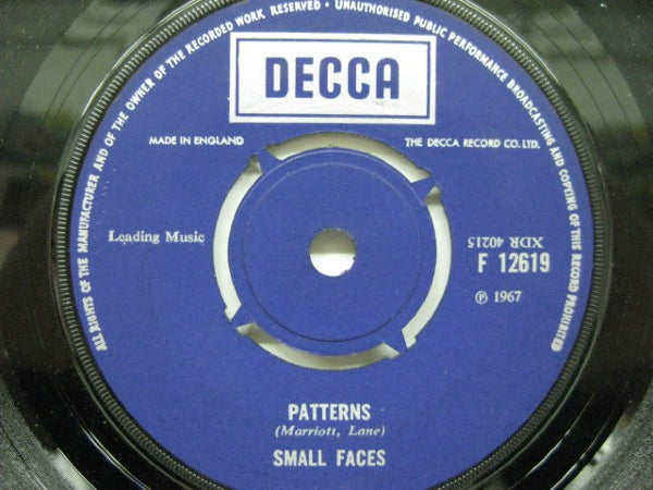SMALL FACES - Patterns / E Too D