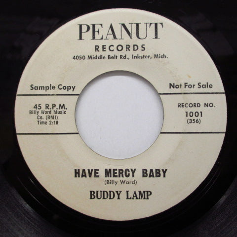 BUDDY LAMP - Have Mercy Baby / I'm Coming Home