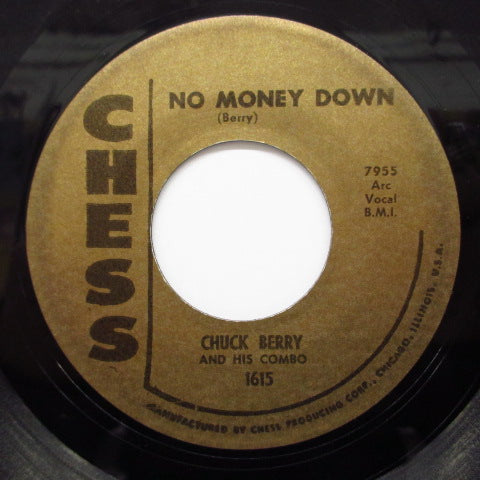 CHUCK BERRY - No Money Down (60's Reissue)
