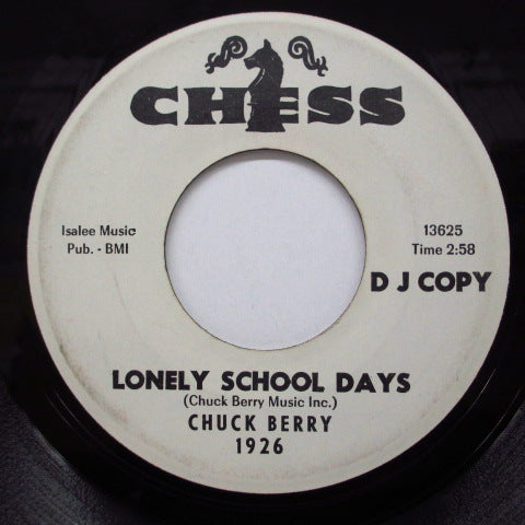 CHUCK BERRY - Dear Dad/Lonely School Days (Promo)