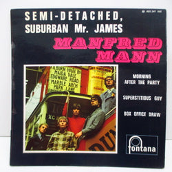 MANFRED MANN - Semi-Detached, Suburban Mr.James +3 (France Orig.EP/CFS)