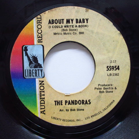 PANDORAS - About My Baby / New Day (Promo)