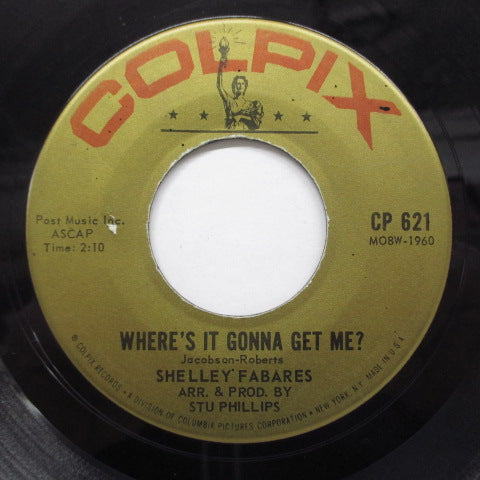 SHELLEY FABARES - Johnny Angel (Orig)
