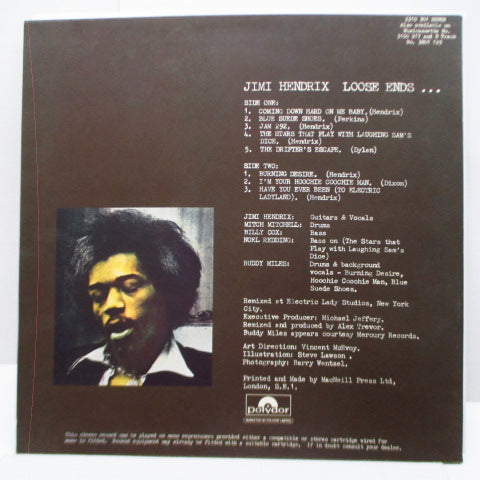 JIMI HENDRIX - Loose Ends (UK Orig.LP)