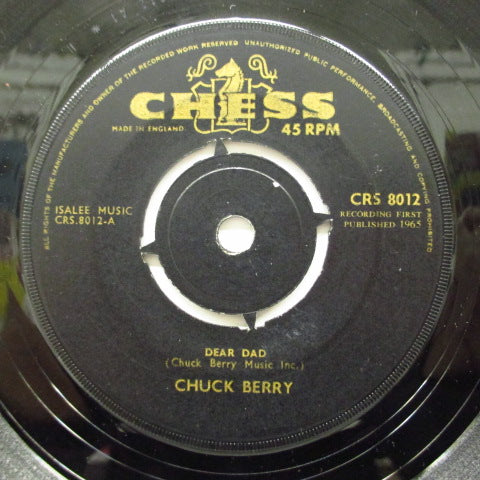 CHUCK BERRY - Dear Dad / My Little Love-Lite (UK)
