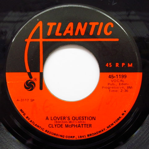 CLYDE McPHATTER - A Lover's Question (60's Re)