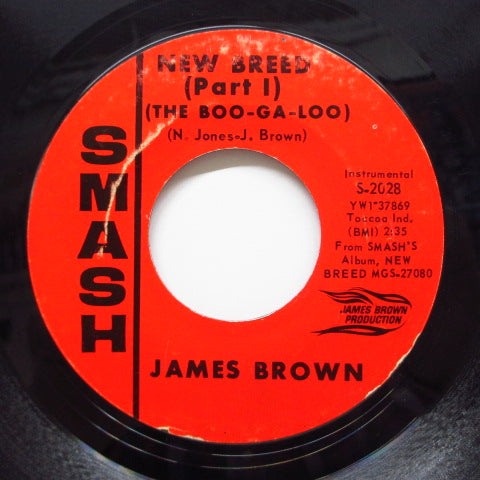 JAMES BROWN - New Breed (The Boo-Ga-Loo) (Part.1&2) (Orig)