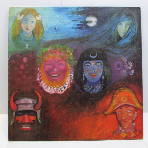 KING CRIMSON - In The Wake Of Poseidon (UK 2nd Press LP/Textured GS