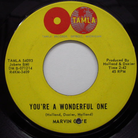 MARVIN GAYE - You're A Wonderful One