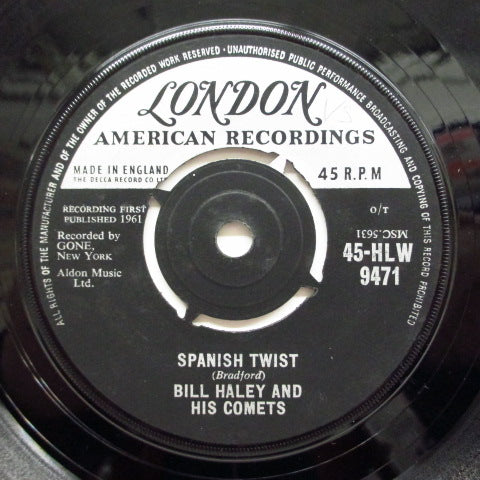 BILL HALEY & HIS COMETS - Spanish Twist (UK Orig.)