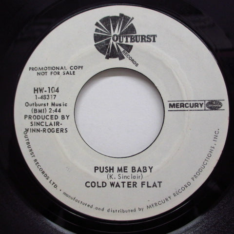 COLD WATER FLAT - Push Me Baby (Promo)