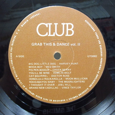 V.A. - Grab This & Dance Vol.2 (UK Orig.LP/茶ラベ)