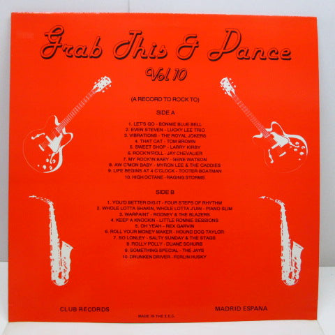 V.A. - Grab This & Dance Vol.10 (UK Orig.LP)