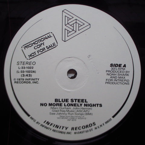 "BLUE STEEL (ブルー・スティール)  - No More Lonely Nights (US Promo 12"")"