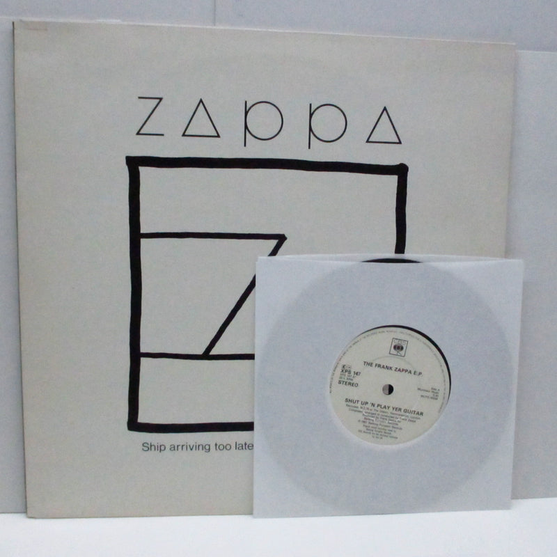 "FRANK ZAPPA - Ship Arriving Too Late To Save A Drowning Witch (UK Orig.LP+7"")"