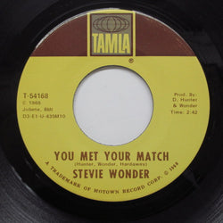 STEVIE WONDER - You Met Your Match (Orig)