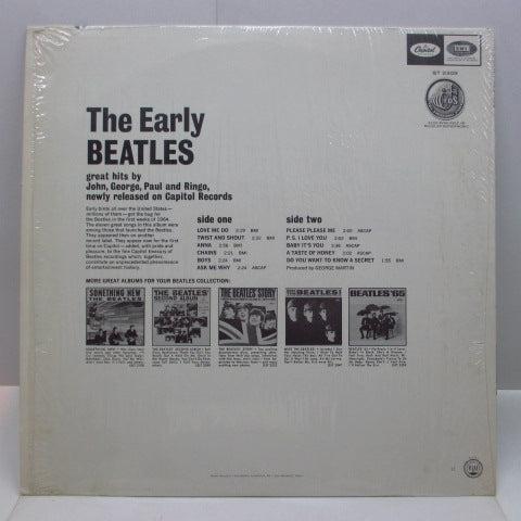 BEATLES - The Early Beatles (US '69 Re Green Lbl.Stereo LP)