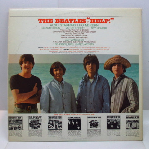 BEATLES - Help ! (US '69 Re Green Lbl.Stereo/GS)
